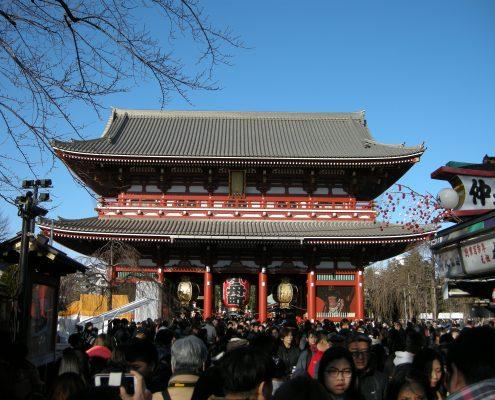 Sensoji-Tempel Asakusa