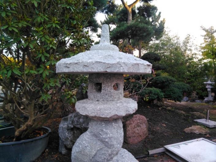 Granit-Steinlaterne 17003 Baumlaterne Bonsai.NRW