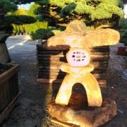 original japanische Steinlaterne aus Kyoto SL18001