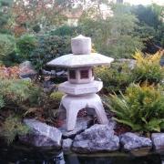 Granit-Steinlaterne Kodai Yukimi SL 13110 Bonsai.NRW